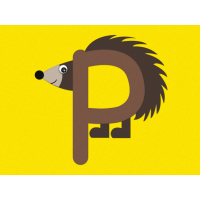 P is for porcupine