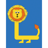 L is for lion
