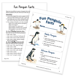 Fun Penguin Facts