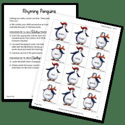 Rhyming Penguins