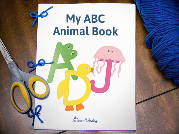 Completed My ABC Animal Book put together