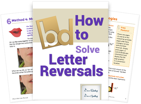 How to Solve Letter Reversals