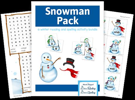 Snowman Pack Activity